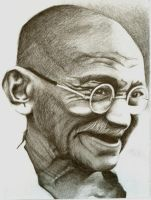 Gandhi by eapcat