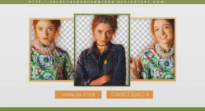 Natalia Dyer png pack by valeryscolors
