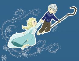 Come Fly With Me - Jack/Elsa by OukaWolf46