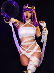 Menat from Street Fighter V Cosplay Rinnie Riot by RinnieRiot