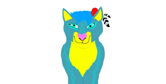 One of my Feral Heart Lions X3 by Flippyisadorable
