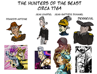 The Hunters of the Beast by aGentlemanScientist