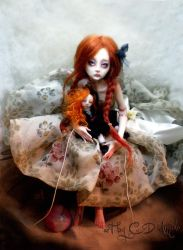 Ball jointed art doll BJD Child's Play CC by cdlitestudio