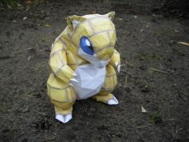 Sandshrew papercraft