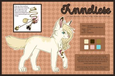 090301 Anneliese Reference by Kitokii