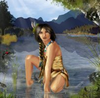 Pocahontas by glimpen