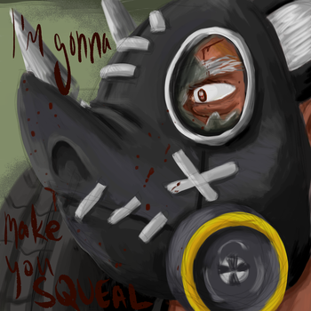 Roadhog Week Day One--Favorite Quote by FoxLi