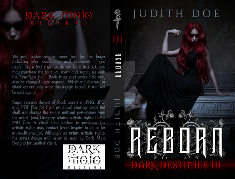 Dark Destinies Series - 3rd of 3 Cover Set