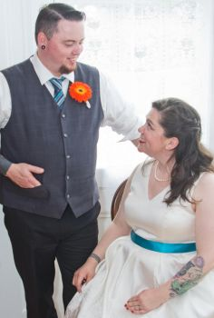 S+M Wedding - A grinning moment by bulloney