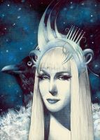 Snow Queen (ver 2) by KaterinaChadoulou