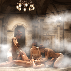 Pleasures of Hamam by renderfantasies