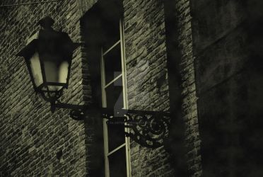 Old times street lamp by SilvieTepes
