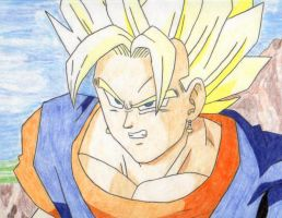 SSJ Vegetto by Stephr0x0rs