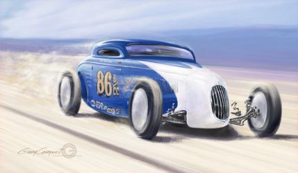 Jim Travis / So-Cal Coupe by GaryCampesi
