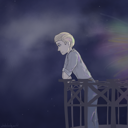 Introverted   APH Germany Speedpaint Below by whatalonelyworld