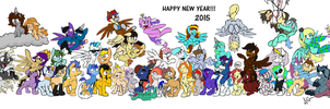 Happy New Year 2015 by ktheman1911