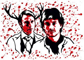 Hannibal and Will 10 by weedenstein
