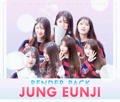 RENDER PACK /// APINK - JUNG EUNJI by Xioelgji1911