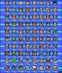 Mega Man 1 - 10 Robot Masters by BlueFirez88