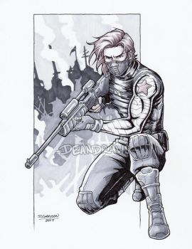 Commission - Sniper Bucky by DeanGrayson