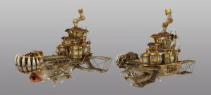 goblin air fortress 3D model by jamis27