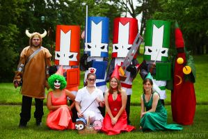 Castle Crashers front by ObscuraVista