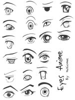 :anime eyes: by Naiome-san