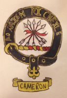 Cameron Clan Seal by swiftcross