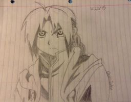 Edward Elric by Panic-Techno