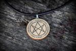 Men of letters necklace (Supernatural) by Pia-CZ