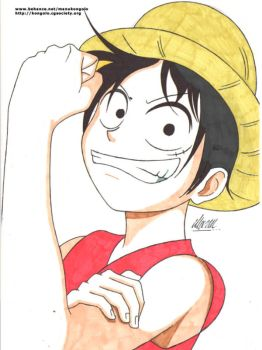 L is For Luffy by manukongolo