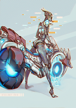 hoverbike by steelsuit