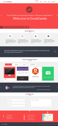 Greatgandu Web Interface UI design by enviraphani