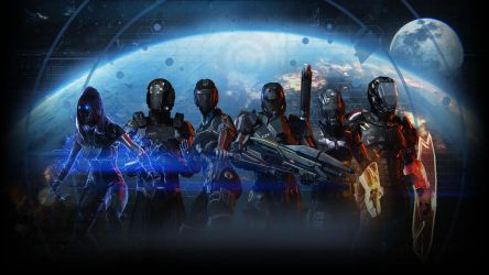 Mass Effect 3 Wallpaper 04 by PimplyPete