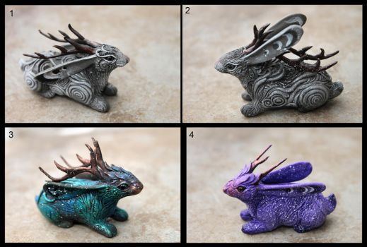 Jackalopes by hontor