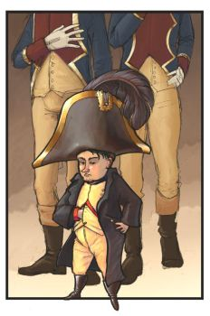 Napoleon Bonaparte-'the great' by aaronravensoul