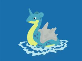 Lapras Wallpaper Navy by Xebeckle-il-Ziluf