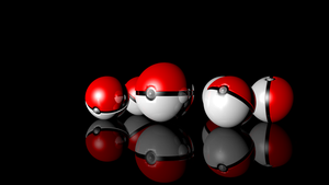 GOTTA CATCH 'EM ALL! Pokeball Pokemon 3D Render by HomelessGoomba
