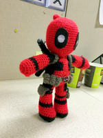 Deadpool Amigurumi by FindMolly