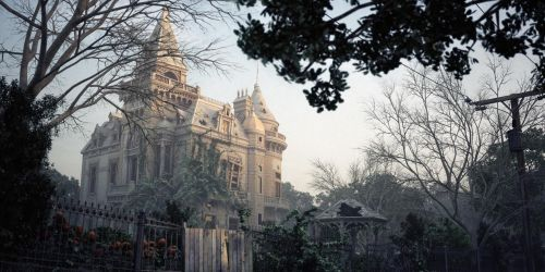 Haunted Mansion by sanfranguy