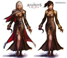 assassin's creed indonesia by makan-basamo