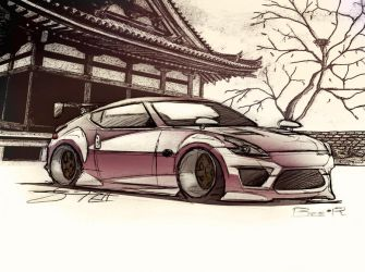 Drift Spec Nissan Z34 Fairlady Z by Yatabe