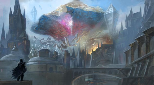 If an Eldrazi invades the Ravnica by emuson