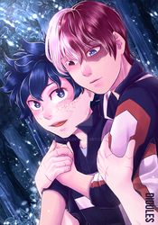 Late date during the summer camp - BNHA by Didules