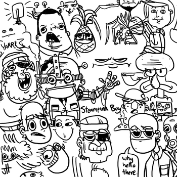 Doodlies by T3hJake