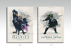 The Legend of Zelda: Skyward Sword Art Book by Deividas12