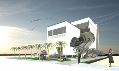 Stage Public Building by sa3ani