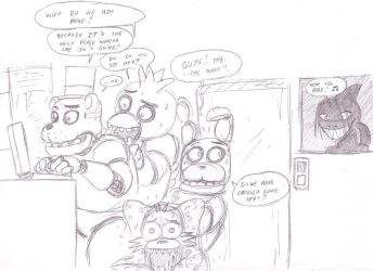 Five nights at Freddy's by Chibibass