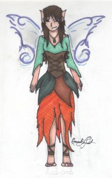 Mythical Creature by Malikai-Flame