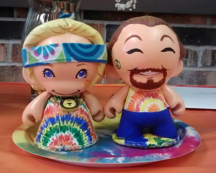 Munny cake toppers by Grimmwerkz